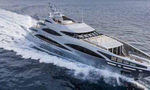 revolutionary Sanlorezno yacht