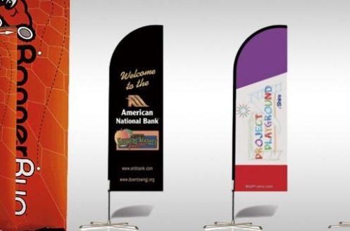 fabric banner,